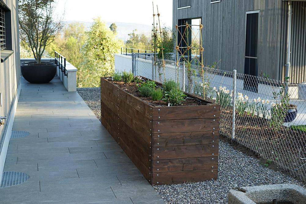 Neubau Gartenanlage